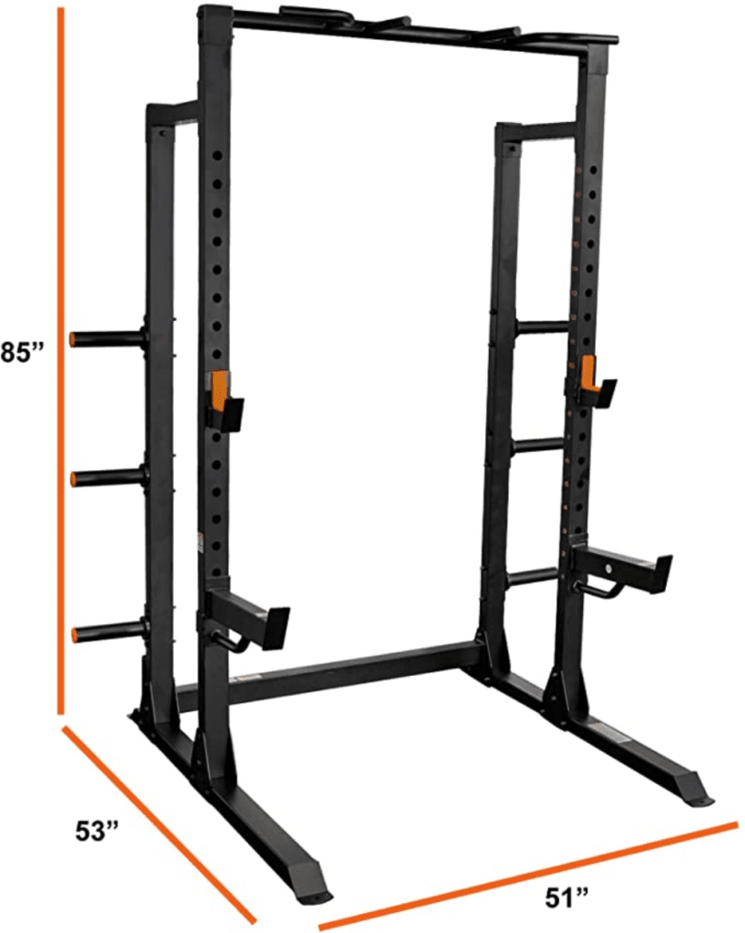 GRIND-Fitness-Chaos-4000-Power-Rack-6-Weight-Plate-Holders-Barbell-Holder
