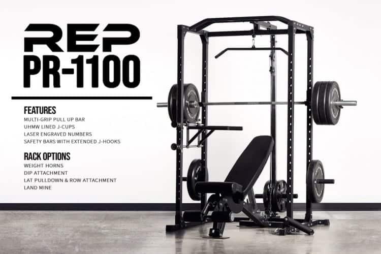 REP PR-1100 Home Gym Power Rack