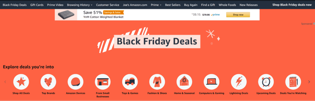 Amazon Gym Equipment Black Friday and Cyber Monday Deals