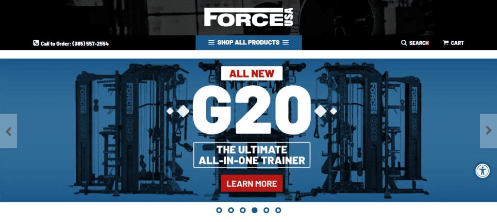 Screenshot 2020 11 26 Power Racks Squat Racks Power Cages Force USA