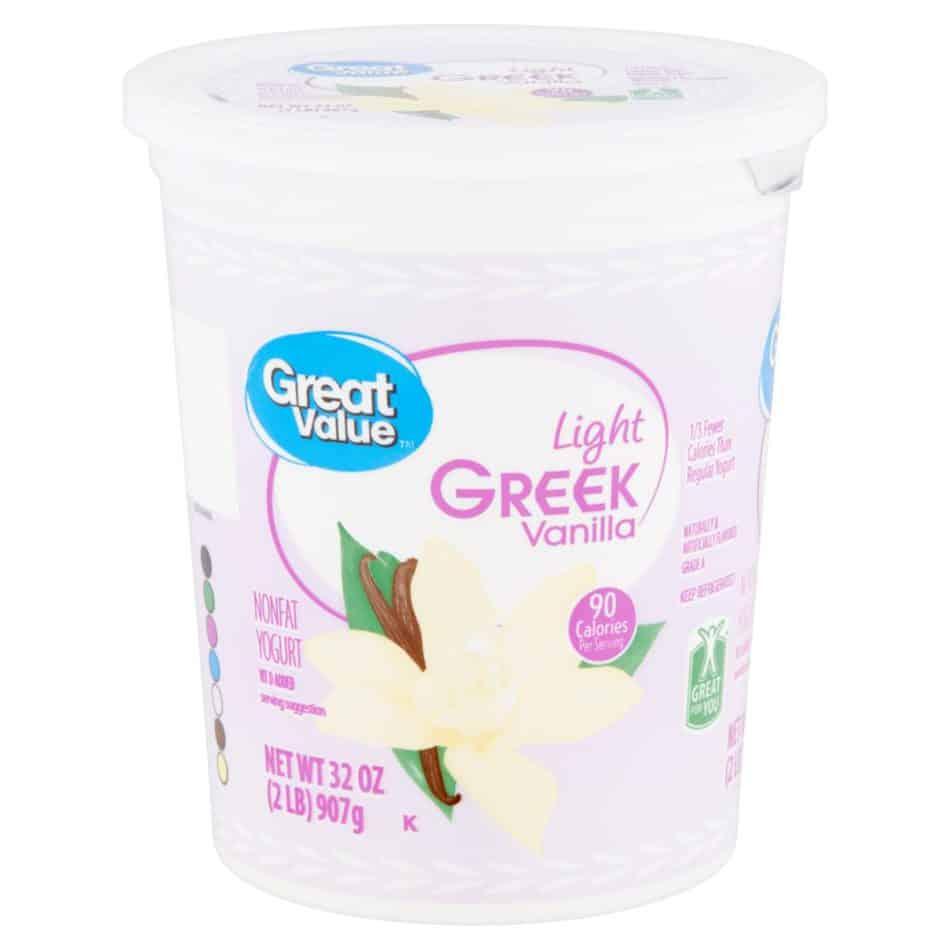 greek yogurt front