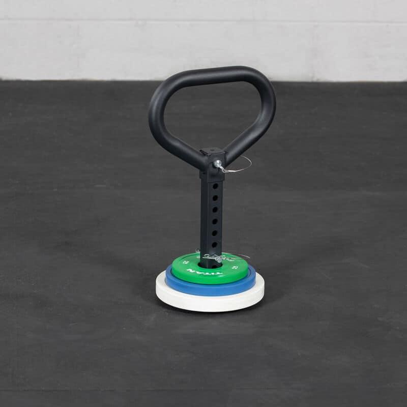 Titan Plate Loadable Kettlebell Swing