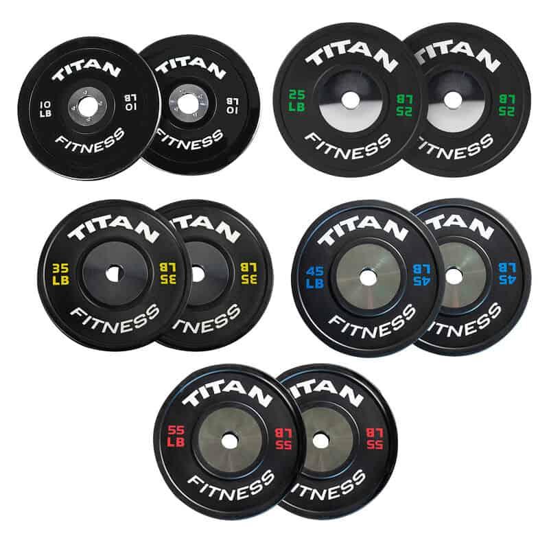 Titan Elite Bumper Plates