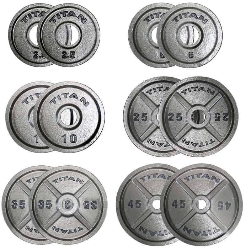 Titan Cast Iron Plates