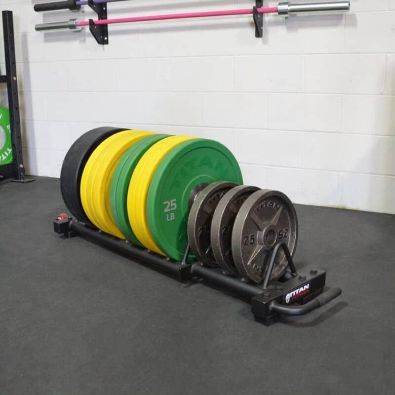 Titan Horizontal Weight Plate Storage