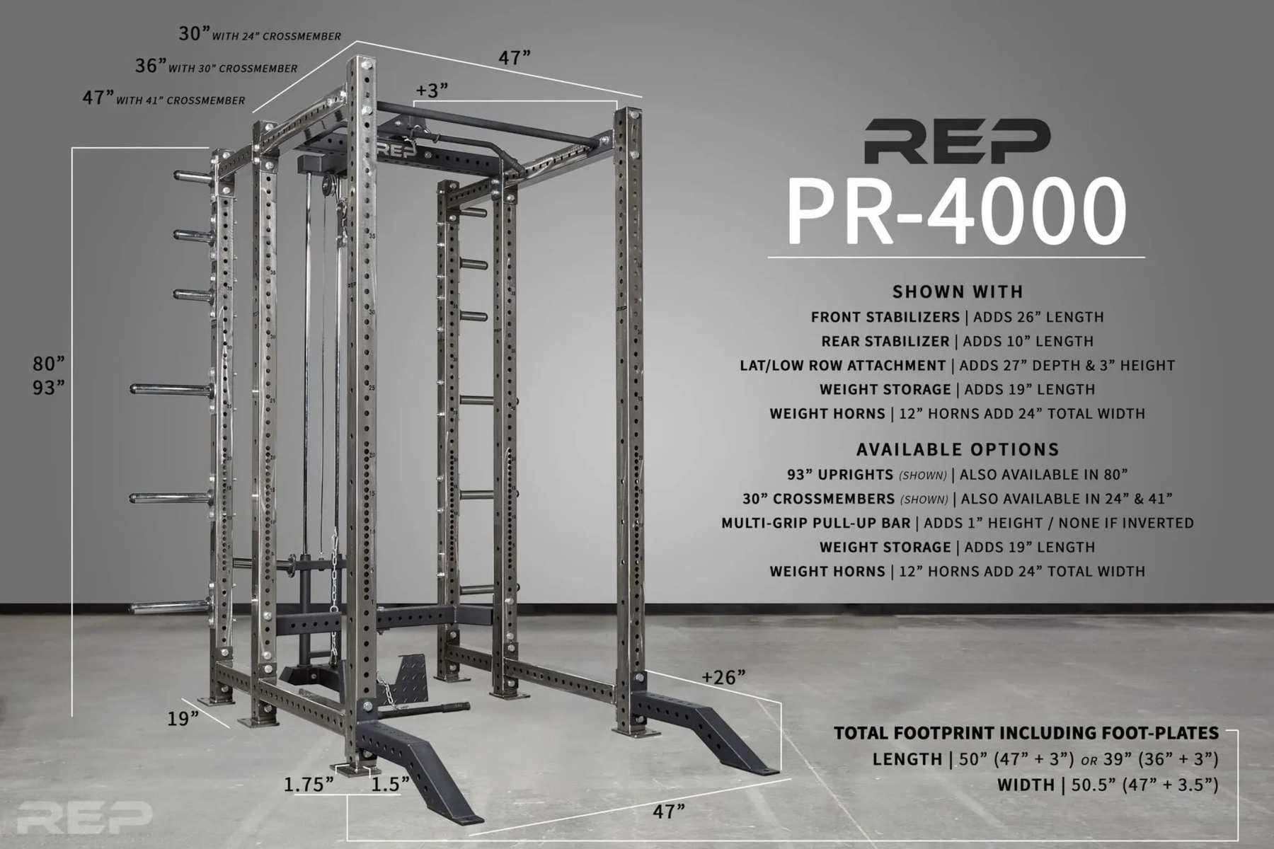Screenshot 2020 11 24 REP PR 4000 Power Rack 1 4