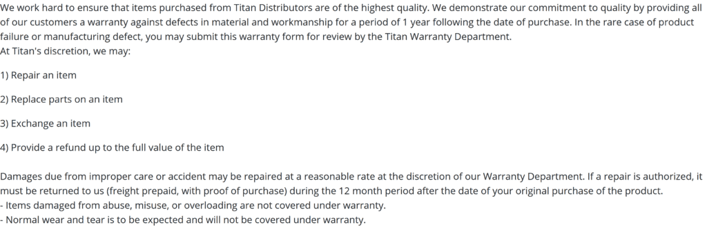 Screenshot 2020 12 05 Warranty