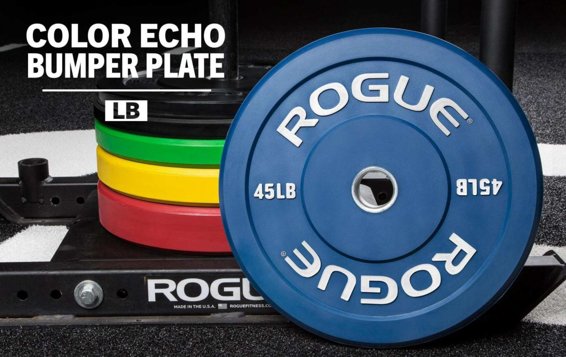 Rogue Color Echo Bumper Plates
