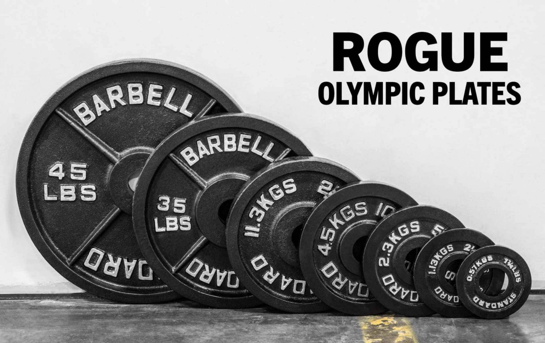 Rogue Olympic Plates