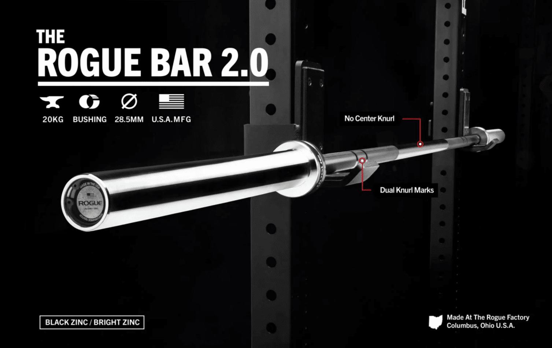 The Rogue Bar 2.0 - Black Zinc