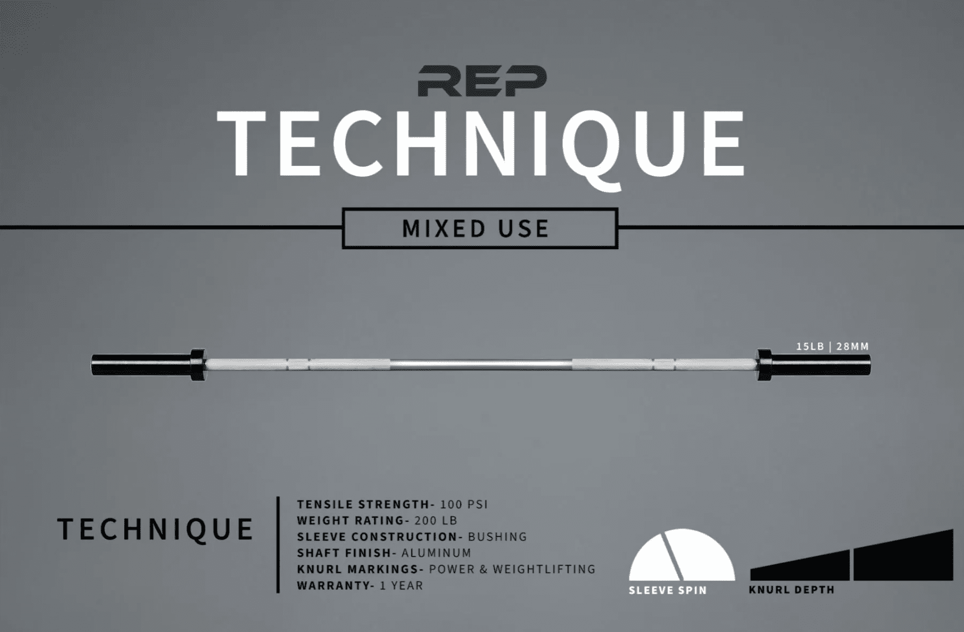 REP Technique Bar