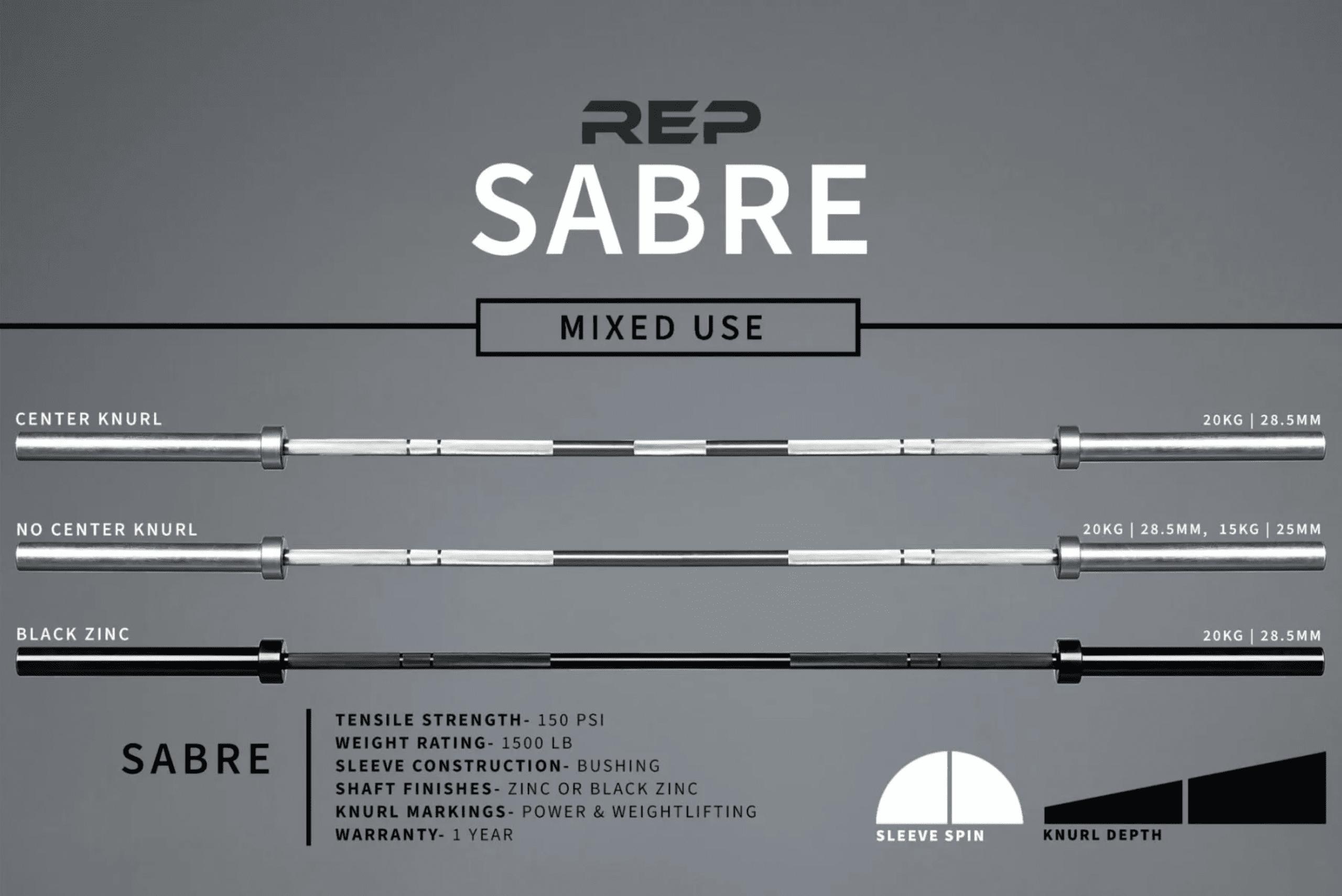 REP Sabre Bar