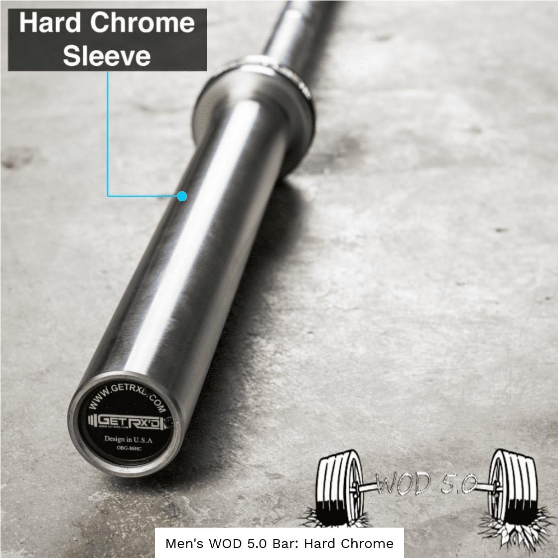 WOD Bar 5.0: Hard Chrome