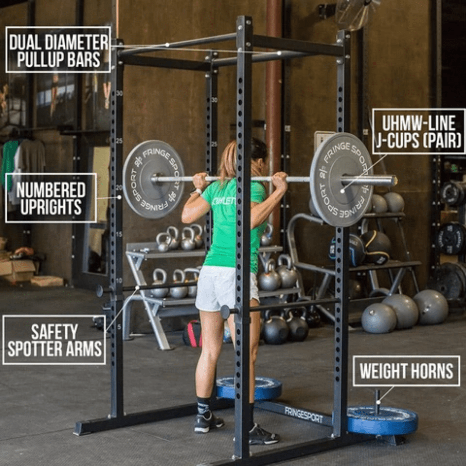 Garage Series Squat Cage
