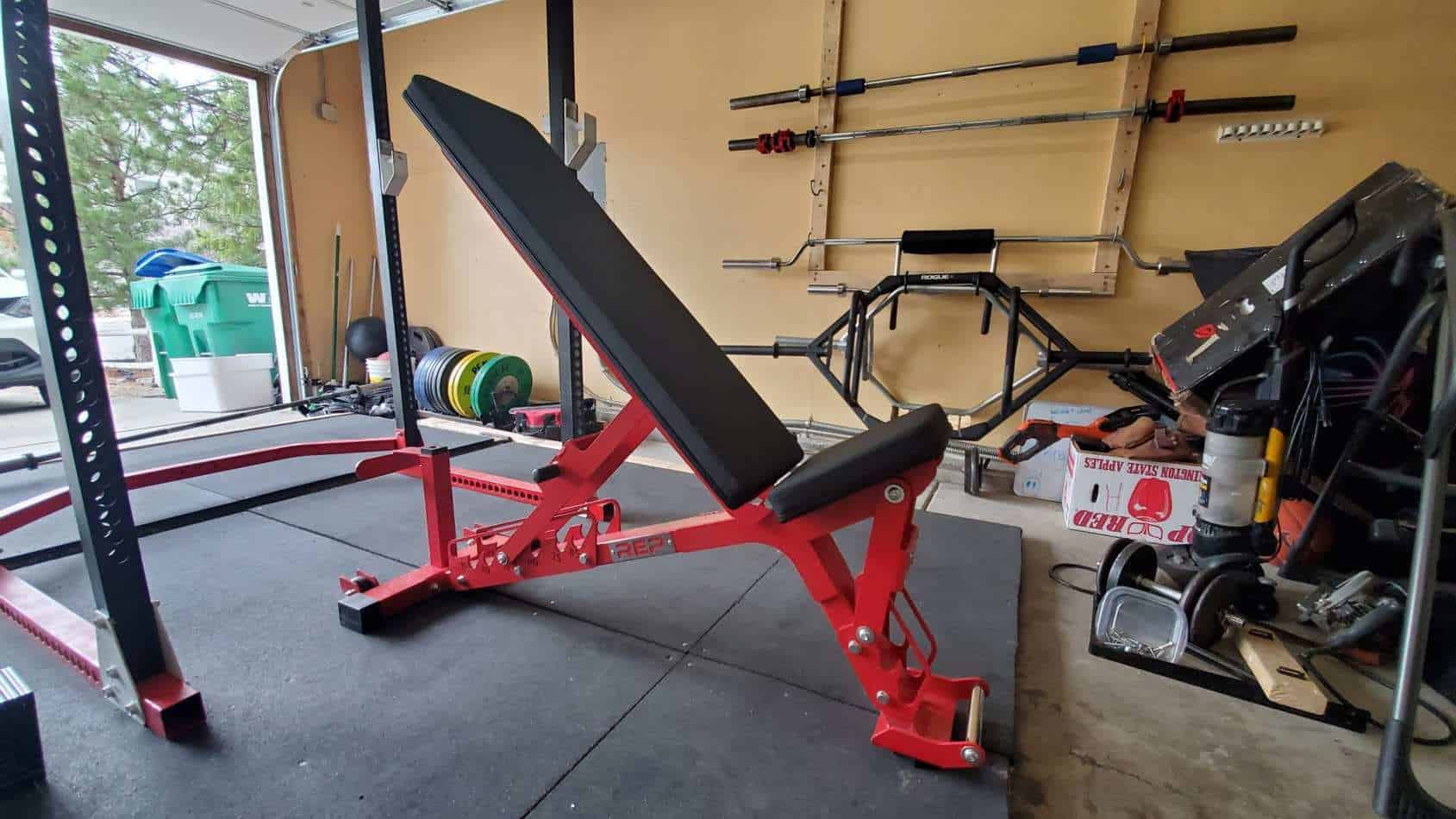 rep fitness ab 5200 adjustable bench review