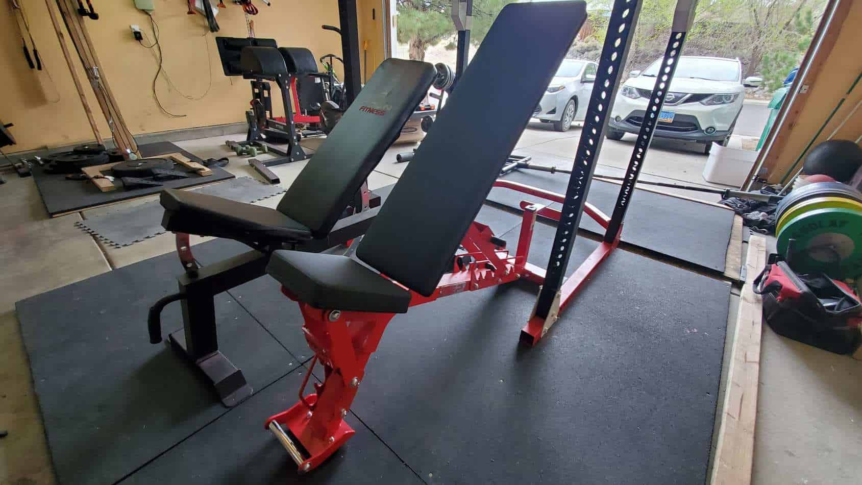titan adjustable bench and rep fitness ab-5200 adjustable bench comparison