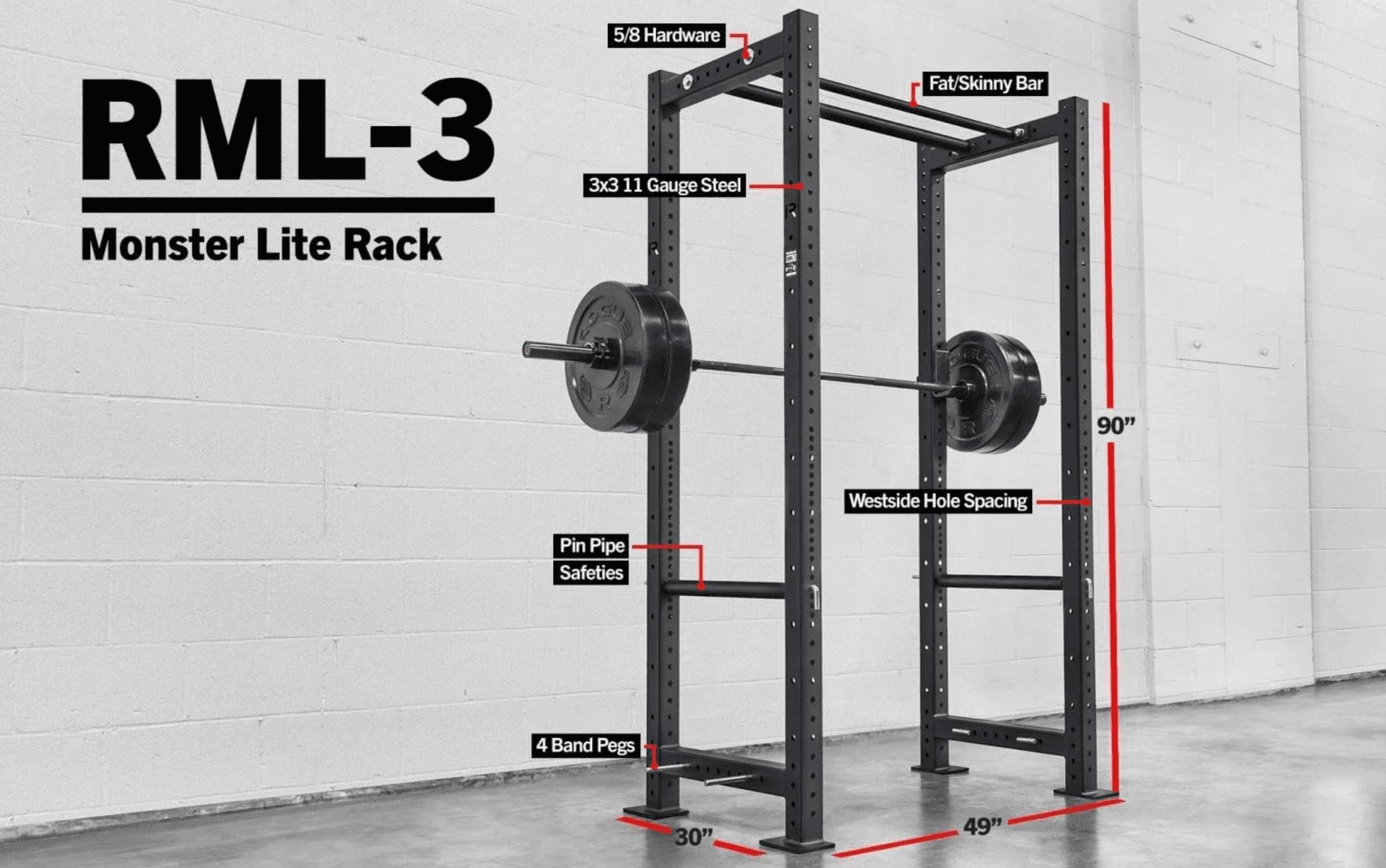 RML-3 Rogue Monster Lite Power Rack
