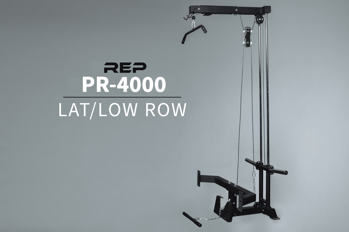 REP PR-4000 Lat/Low Row Attachment