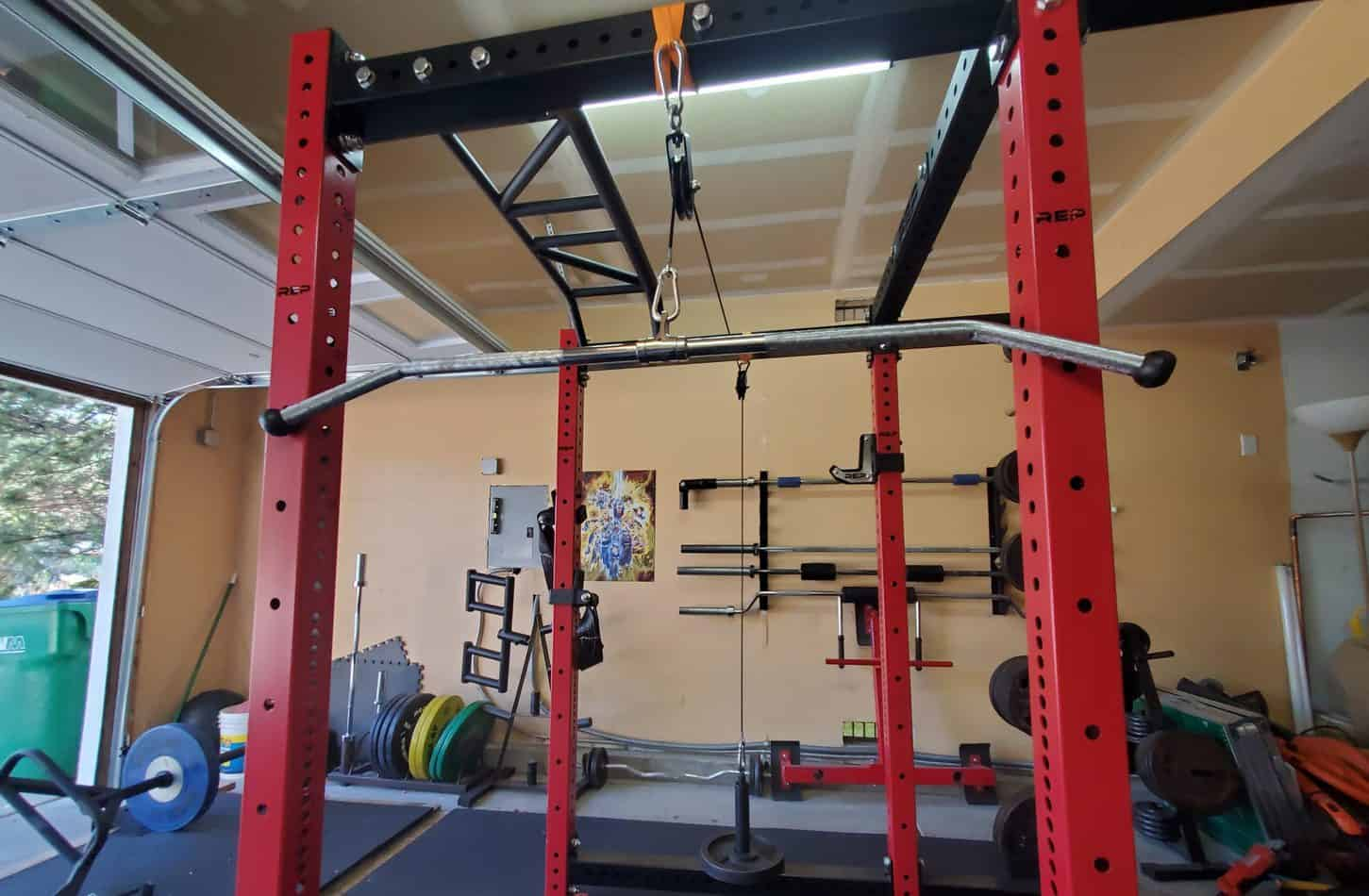 DIY Pulley System For Home Gym