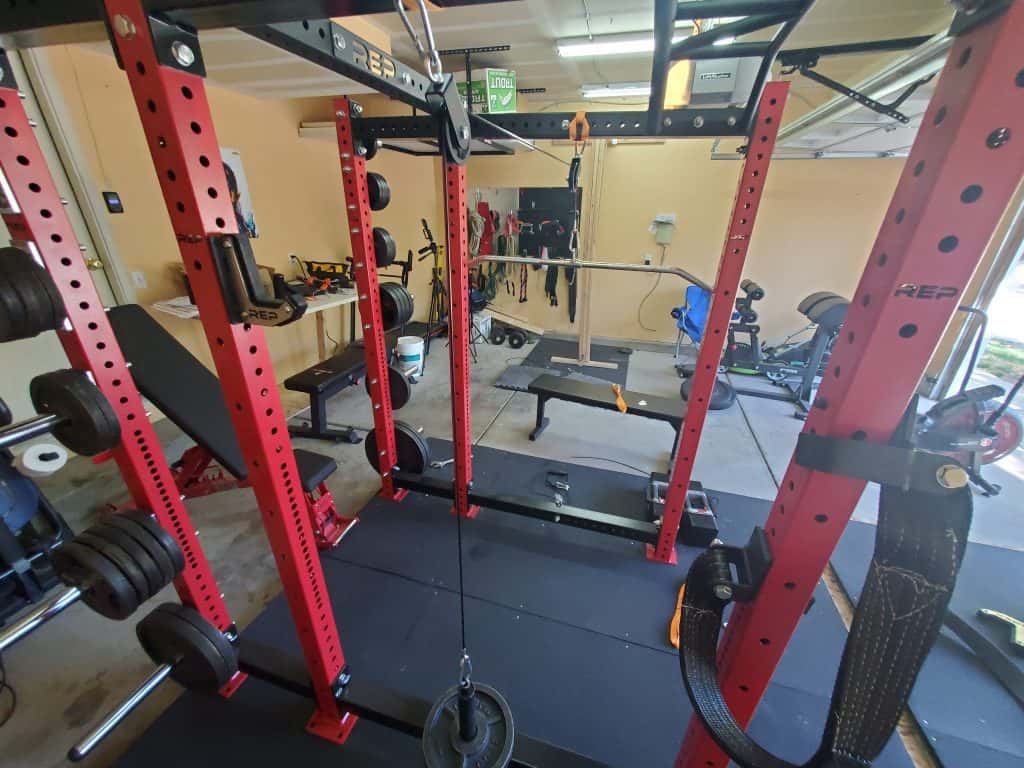 How To Make Your Own DIY Home Gym Pulley System fully completed