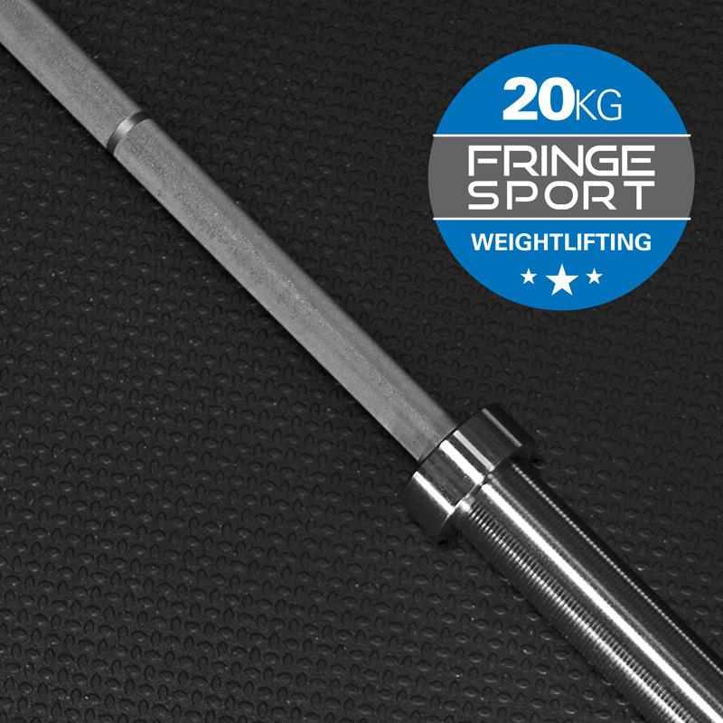 OLYMPIC WEIGHTLIFTING BAR BY FRINGE SPORT