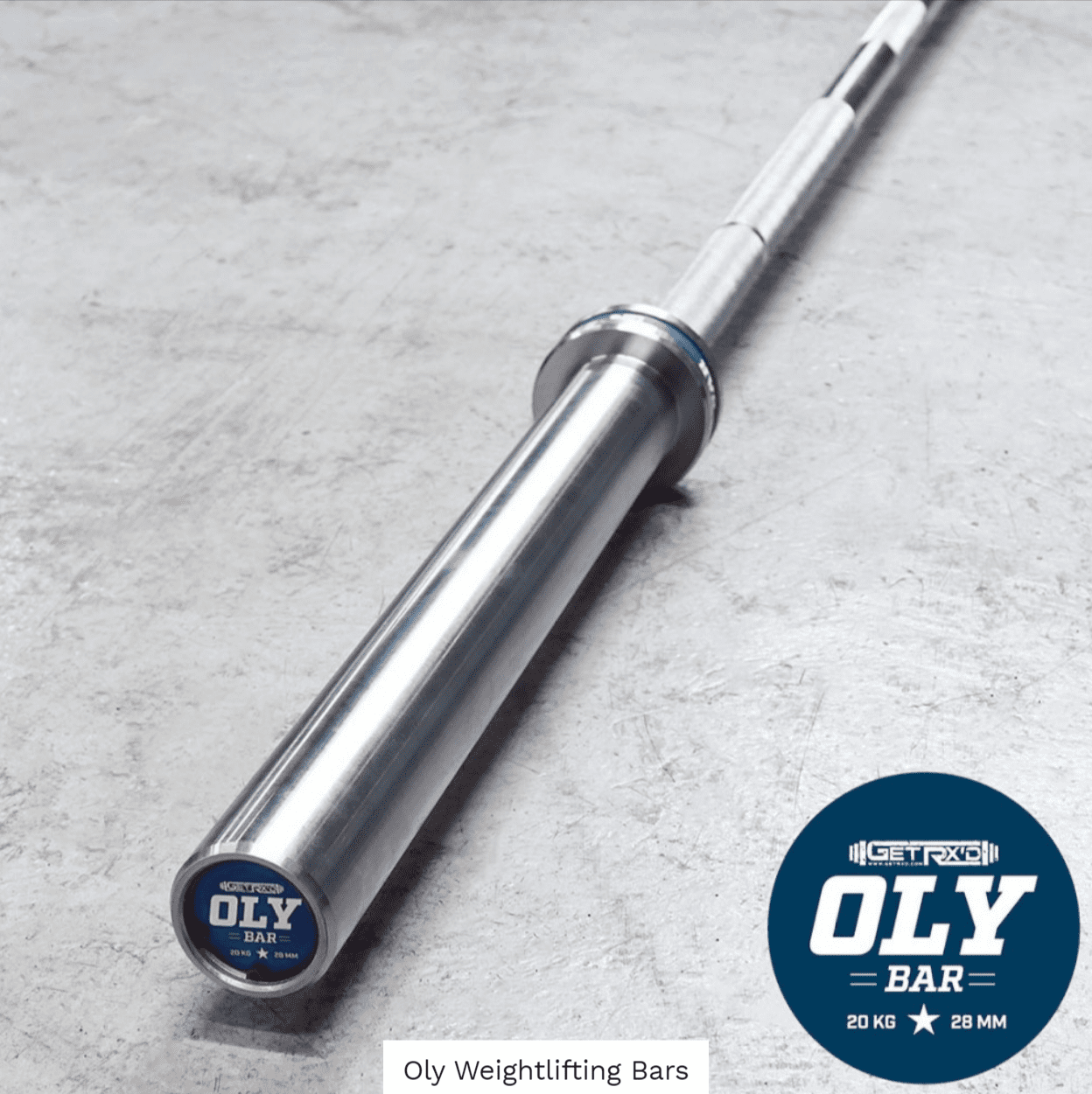 Oly Weightlifting Bar - Get RX'd