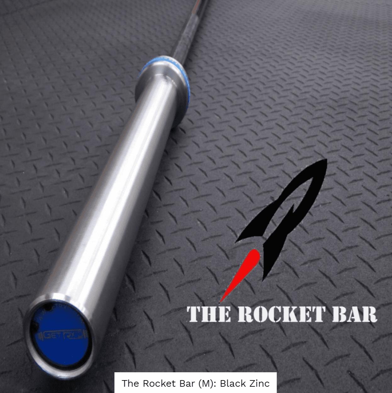 Rocket Bar (Men): Black Zinc